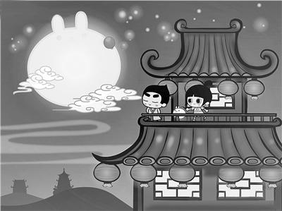 中秋节的传说是非常丰富的,嫦娥奔月,吴刚伐桂,玉兔捣药之类