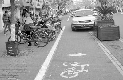 自行车 各归其位 城市环境更有序 -崇明报数字报刊平台